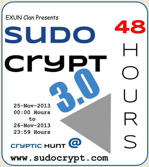 SudoCrypt 3.0